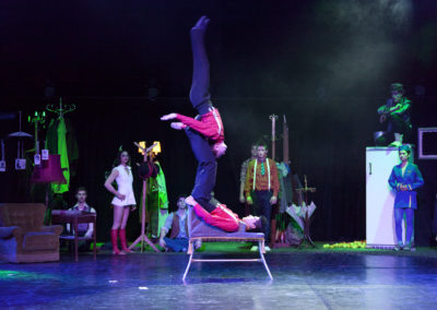 spectacle CIRQUE STARLIGHT 2012 PORRENTRUY